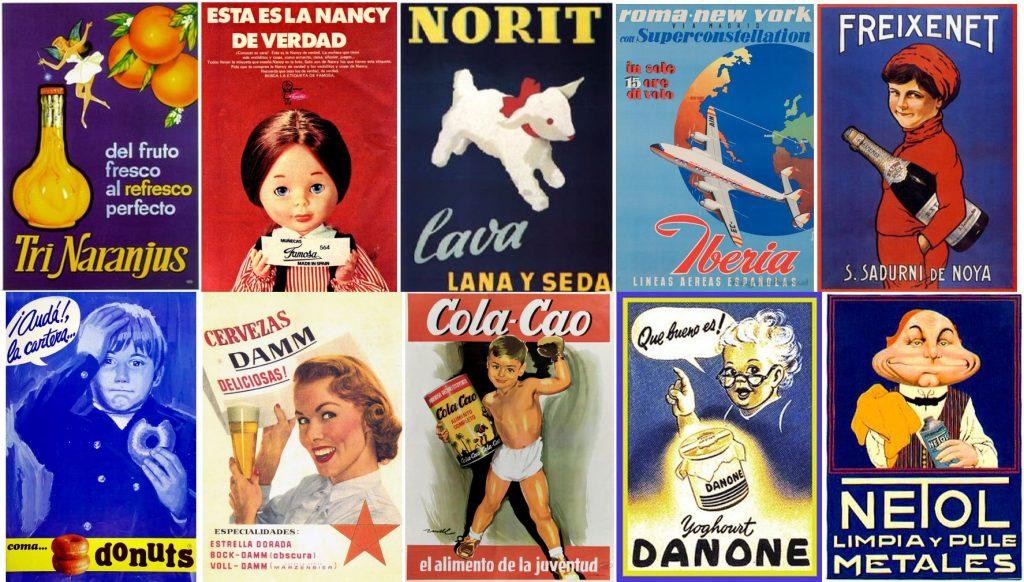 Anuncios españoles vintage